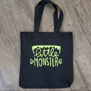 Other - Little Monster Tote Bag
